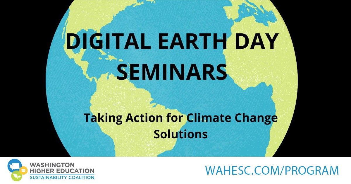 Digital Earth Day Seminars flier