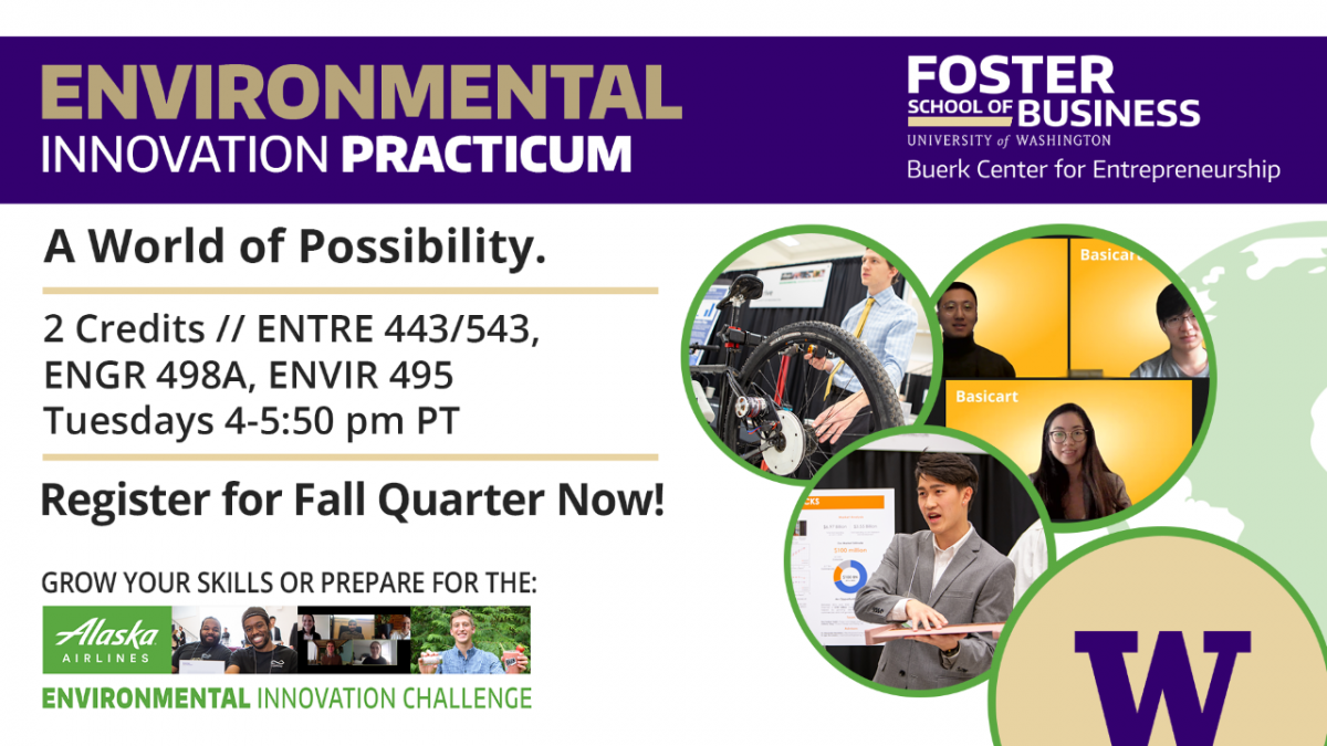 Environmental Innovation Practicum: A world of possibility.