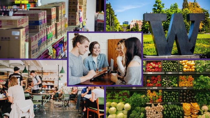 Food systems collage