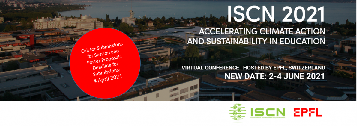 ISCN 2021   Accelerating Climate Action and Sustainability in Education call for submissions