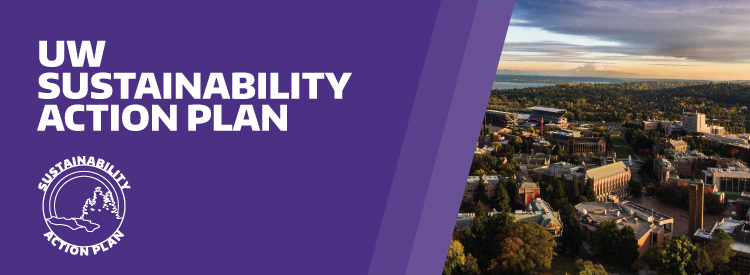 UW Sustainability Action Plan header