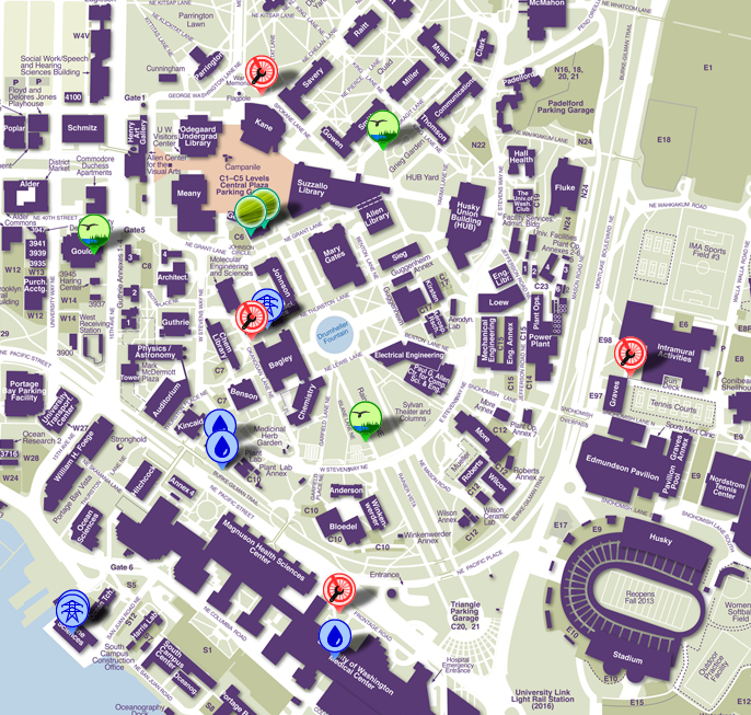 UW Launches Sustainability Map | UW Sustainability