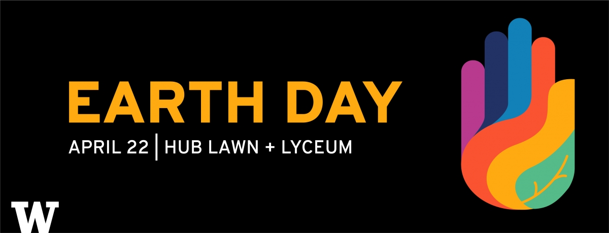 UW Earth Day 2019 header