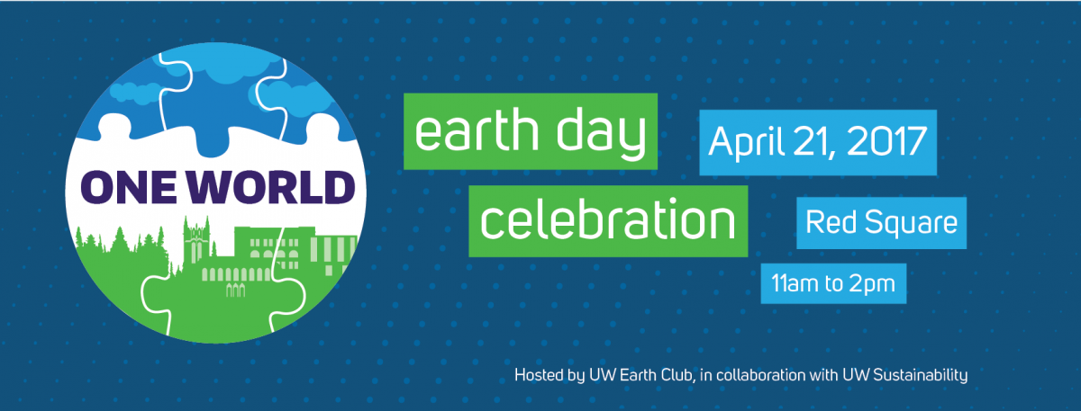 Earth day 2017 uw sustainability earth day 2017 yelopaper Choice Image