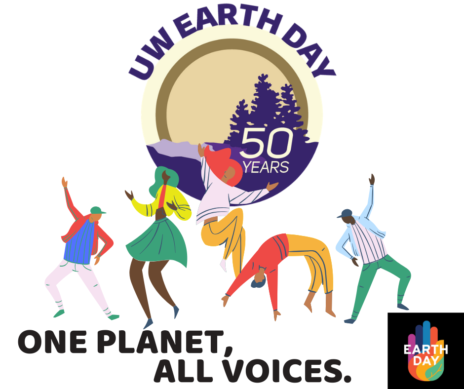 One Planet, All Voices logo