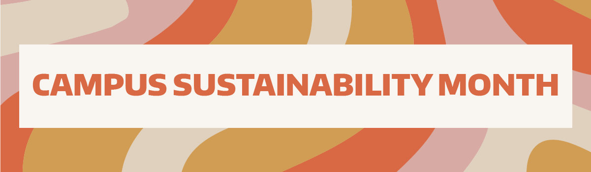 Campus Sustainability Month header
