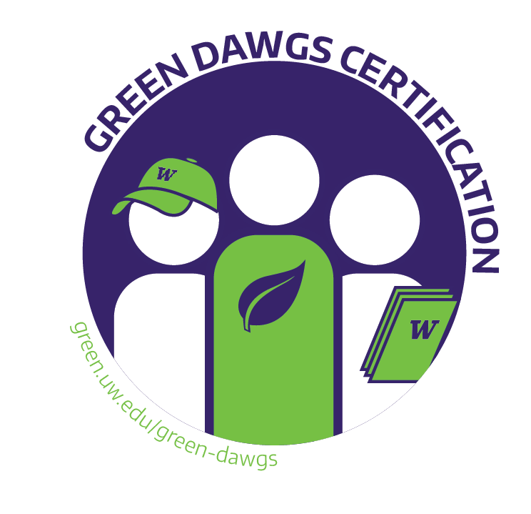 Green Dawgs Certification Uw Sustainability
