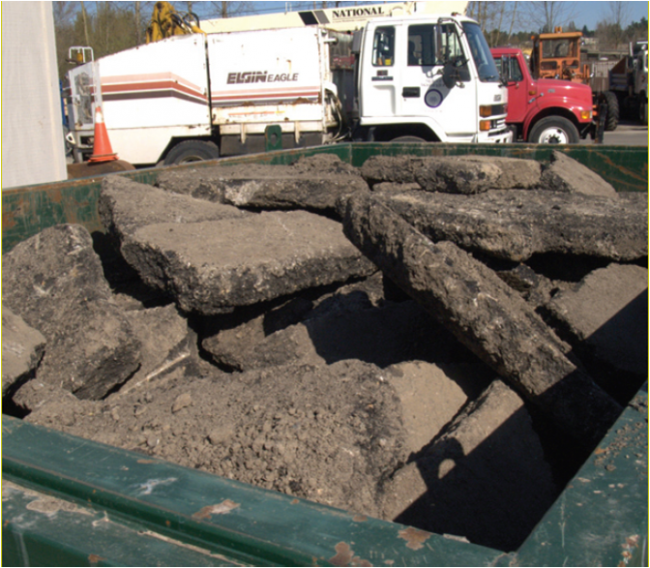 Asphalt And Concrete Reusing And Recycling Uw Sustainability