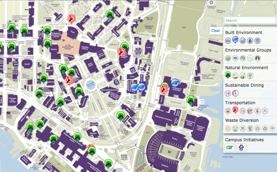 Maps and Campus History | UW Sustainability