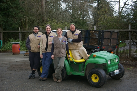 Green Seed Fund Project Grounds Utility Vehicle Carbon Footprint Comparison