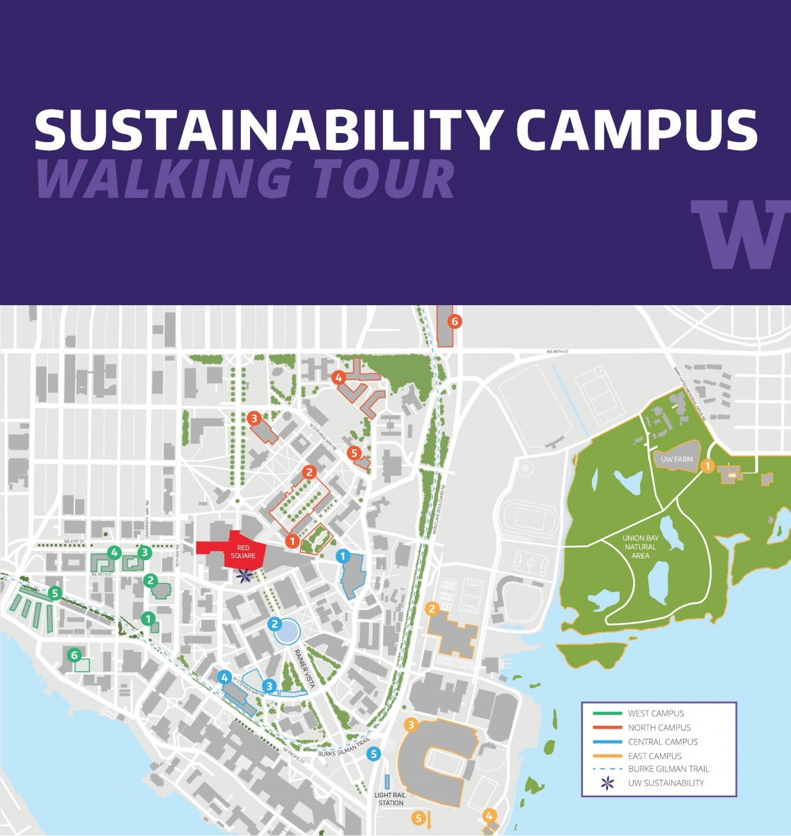 UW sustainable campus walking tour